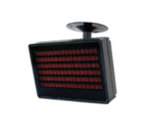 IR illuminator with LED technology