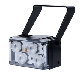 Short range White Light illuminator POE
