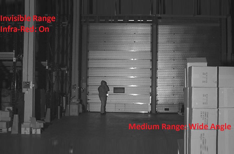Invisible range infrared on