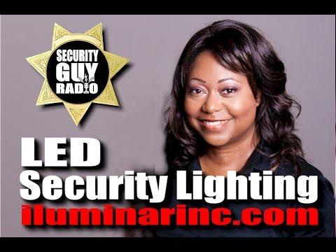 Iluminación de seguridad LED con el CEO de Iluminar Inc. Eddie Reynolds